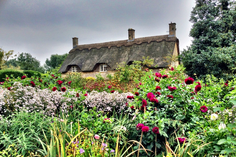 England, Cotswolds, Hidcote gardens. Photo: Jonathan Epstein
