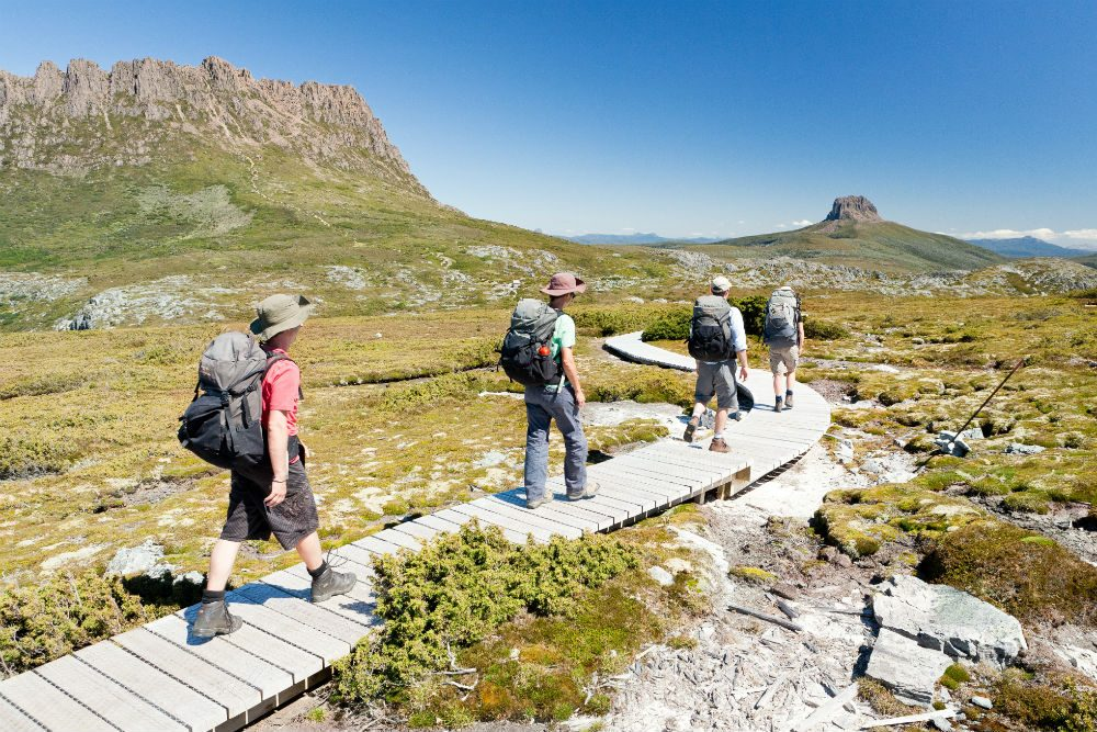 Cradle Mountain Huts Walk Tasmania