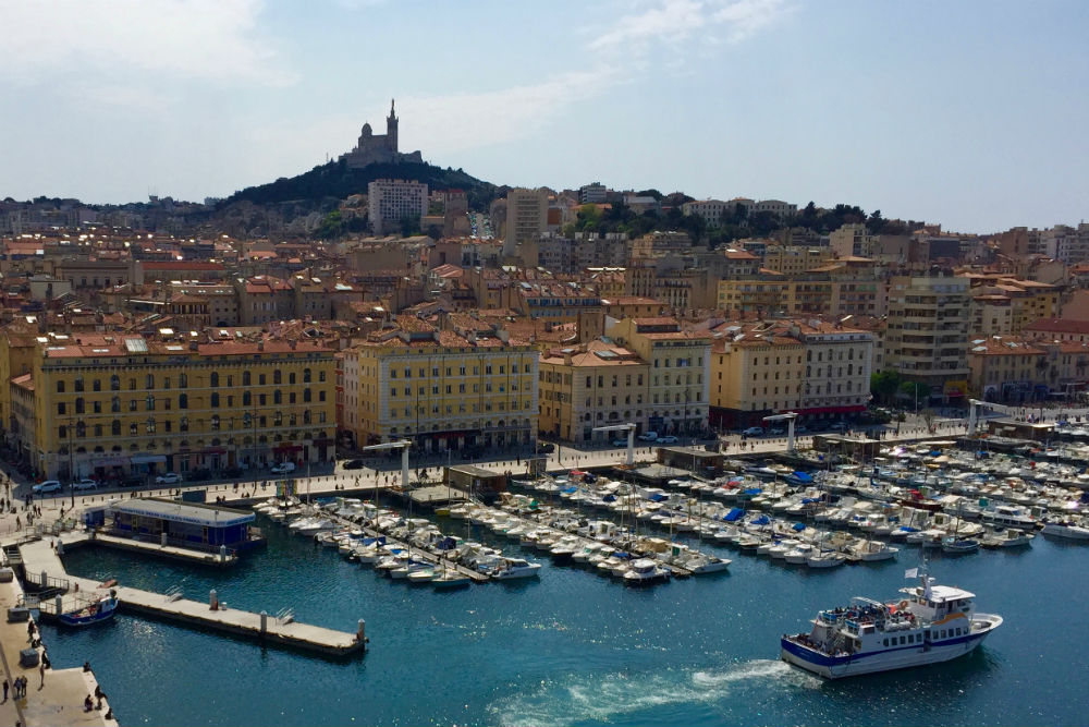 The first port of call on the first-ever sailing of Silversea Cruises' new ship Silver Muse: Marseille, France