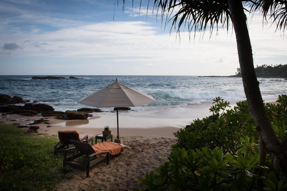 The beach is only a small slice of the experience at Anantara Peace Haven Resort in Tangalle, Sri Lanka.
