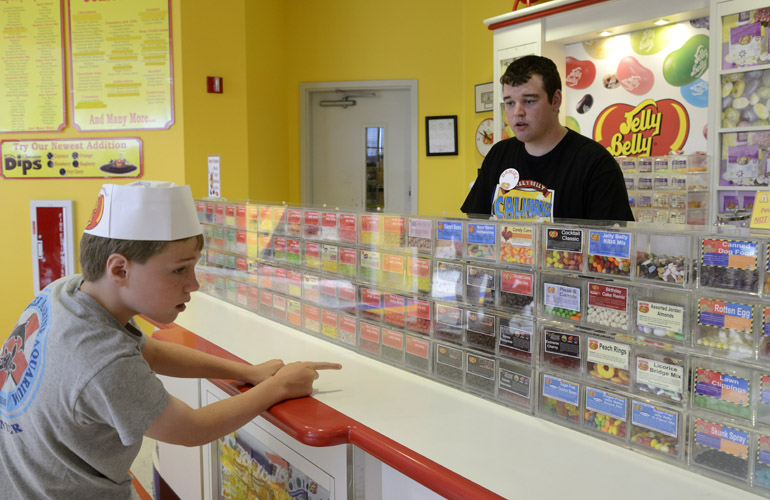 Jelly Belly factory samples