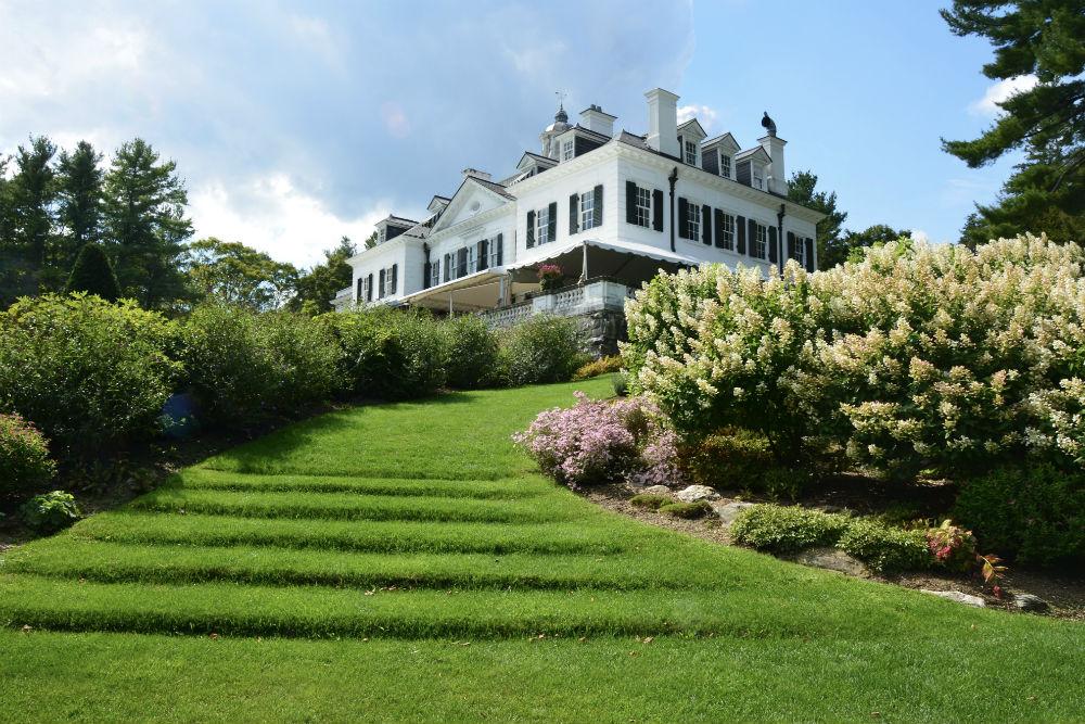 The Mount is edith wharton's home in lenox massachusetss