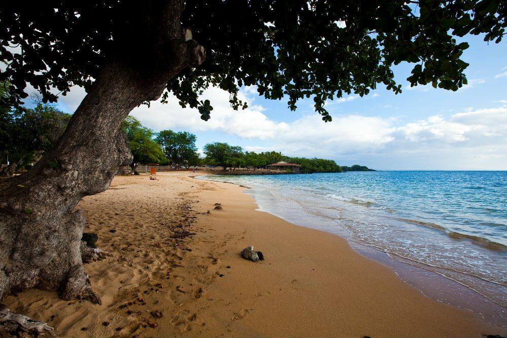 beach at Kawaihae, Big Island, Hawaii.