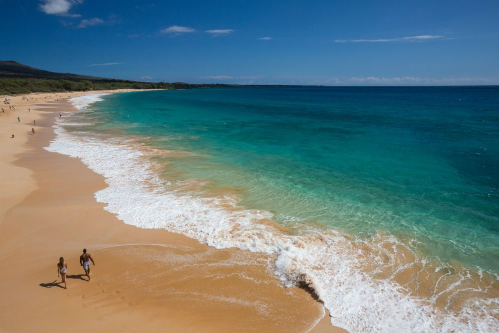 Makena, Maui beach Hawaii