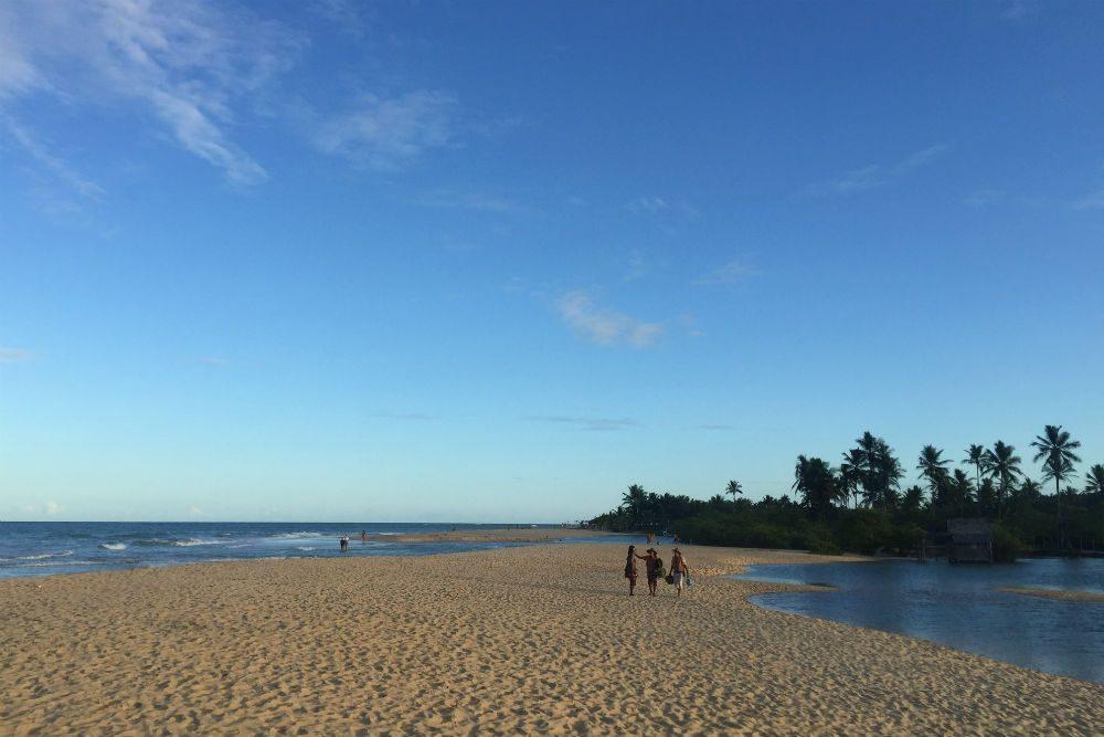 beach in trancoso brazil