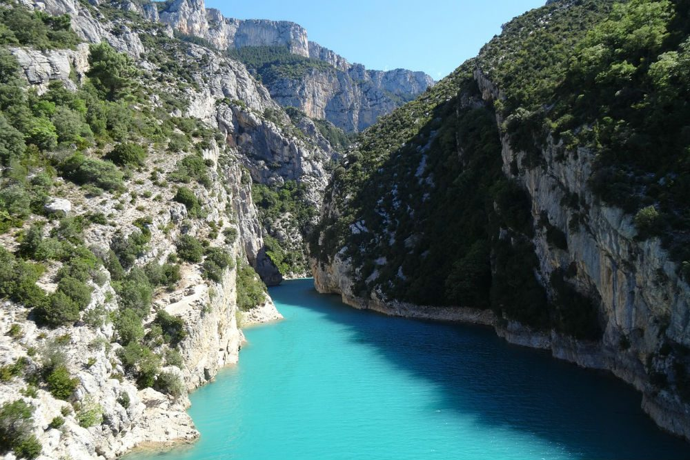 Verdon Gorge in Provence France