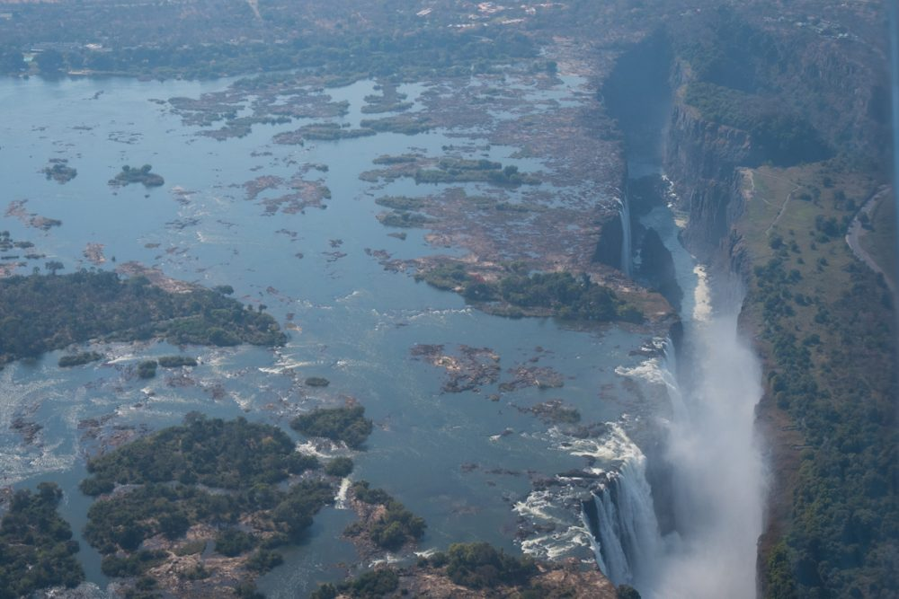 """The local name for Victoria Falls is Mosi-oa-Tunya, which means """"the smoke that thunders."""""""