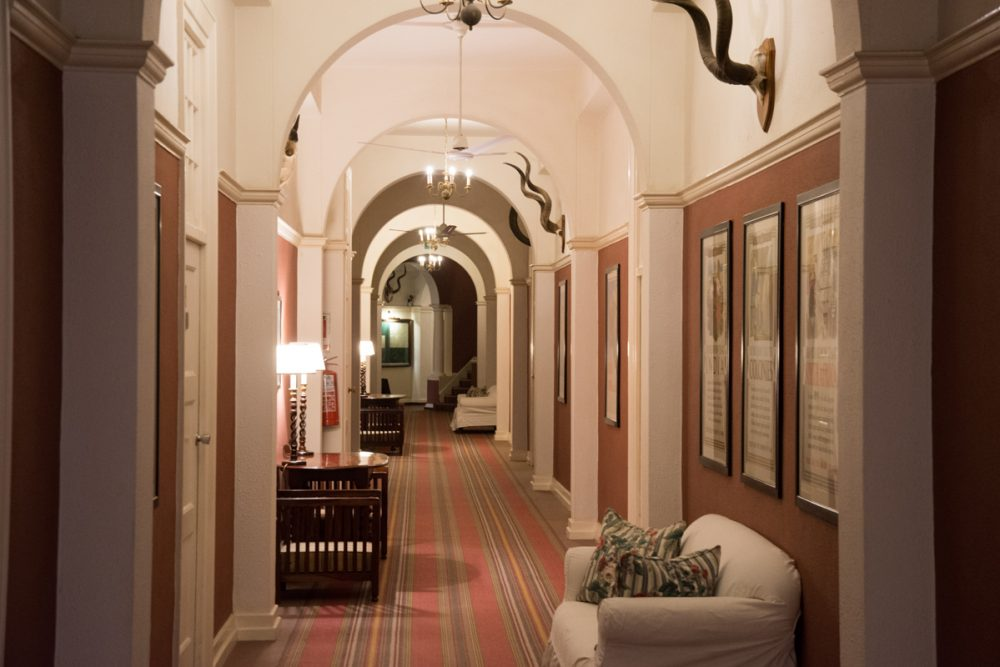 Tim and I think we were in one of the rooms along this corridor when we stayed in the hotel 18 years ago.