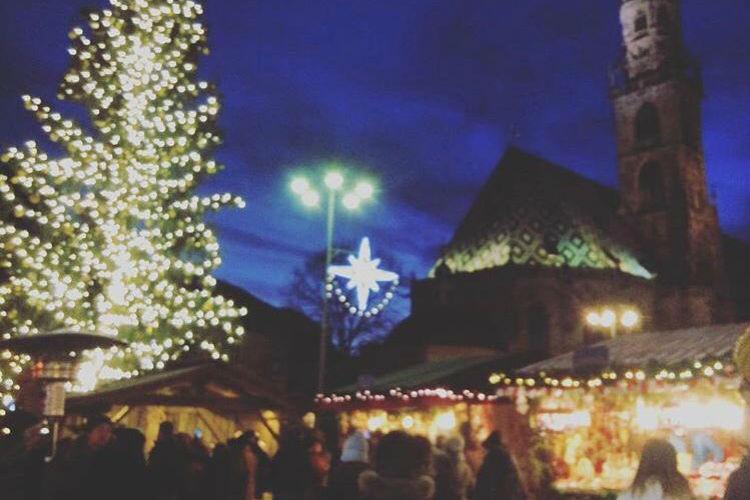 Christmas Market in Bolzano, Italy