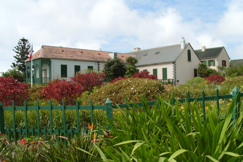 Longwood House is one of three buildings where Napoleon stayed in exile on St. Helena