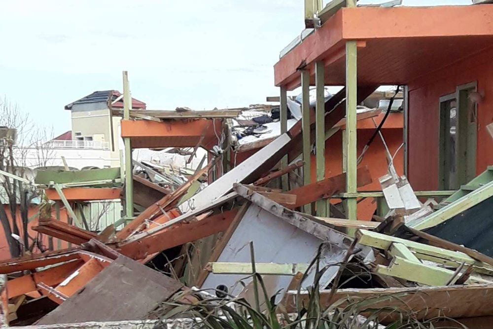 The Summit Resort Hotel in St. Maarten is just one hotel destroyed by Hurricane Irma