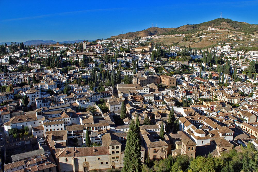 cityscape of Andalusia, Spain