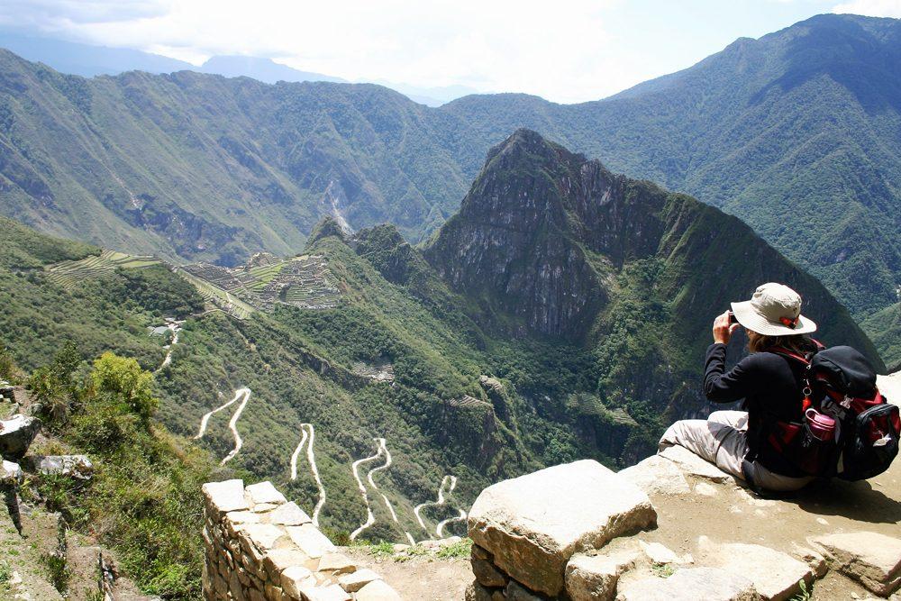 Gateway of the Sun, One Day Inca Trail Trek to Machu Picchu. Photo: Southwind Adventures