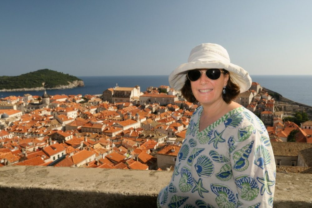 Wendy in Dubrovnik
