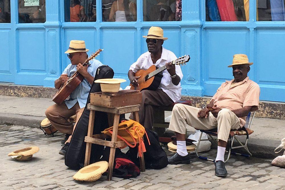 Cuban street musicians 2017. Photo: Jill Stogol