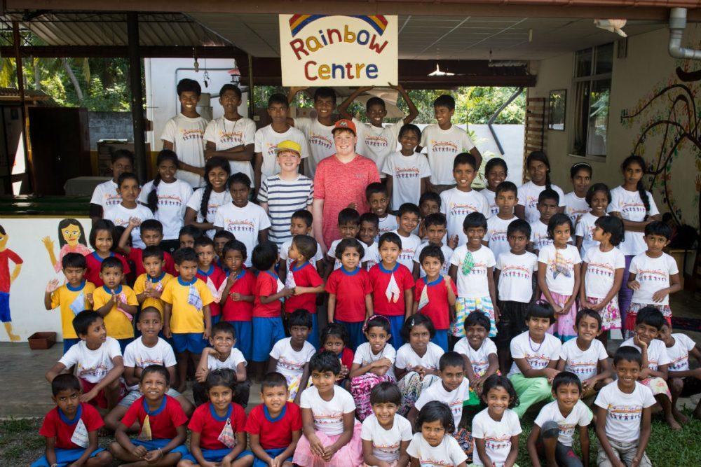 the Rainbow Centre in Sri Lanka