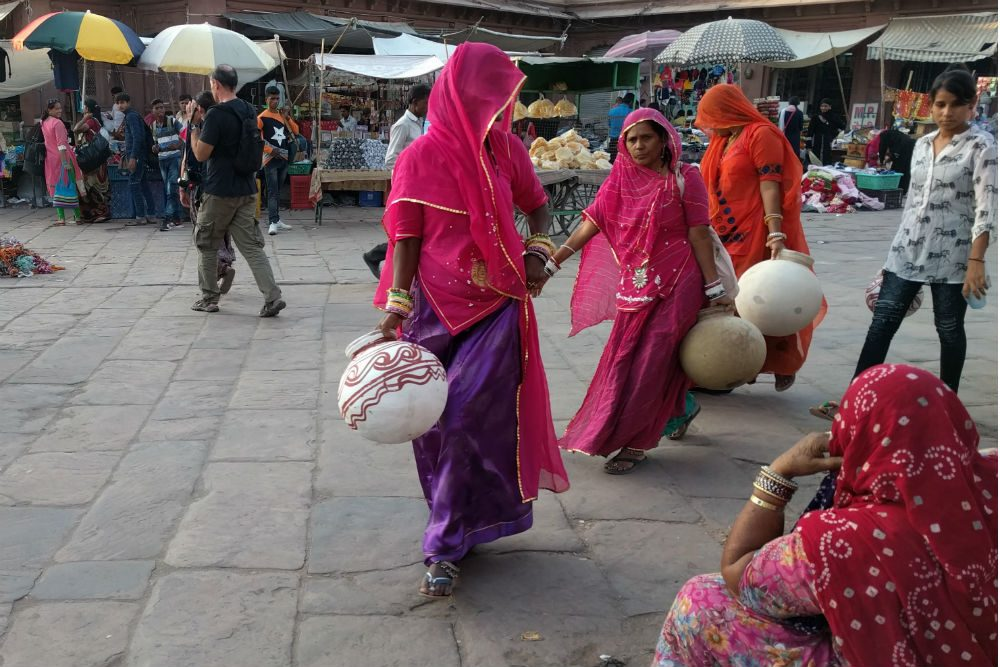 Women in Jodhpur market India