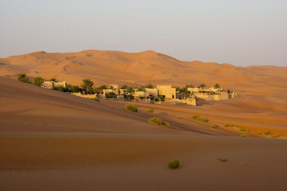 Abu Dhabi Qasr al Sarab desert oasis