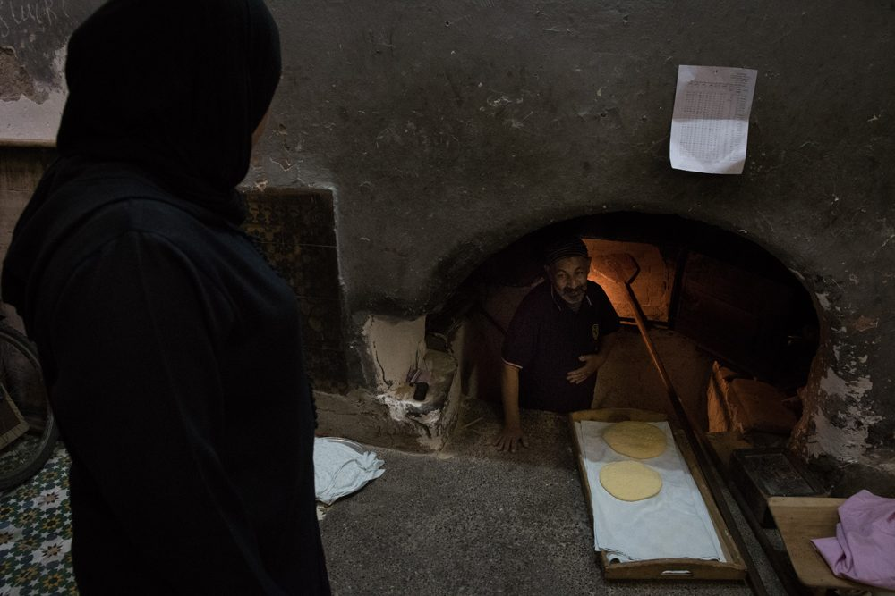 Morocco communal oven