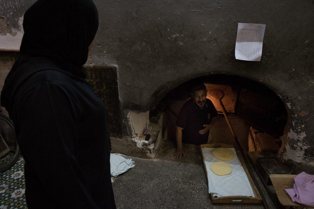 Morocco communal oven