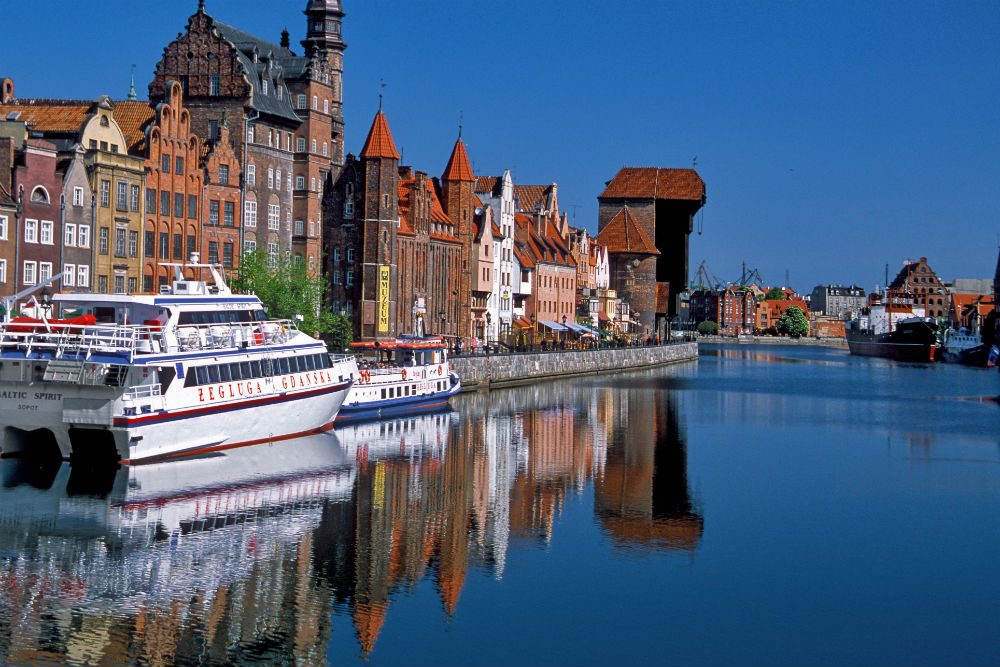 Gdansk, Poland. Photo: Poland Tourist Organization