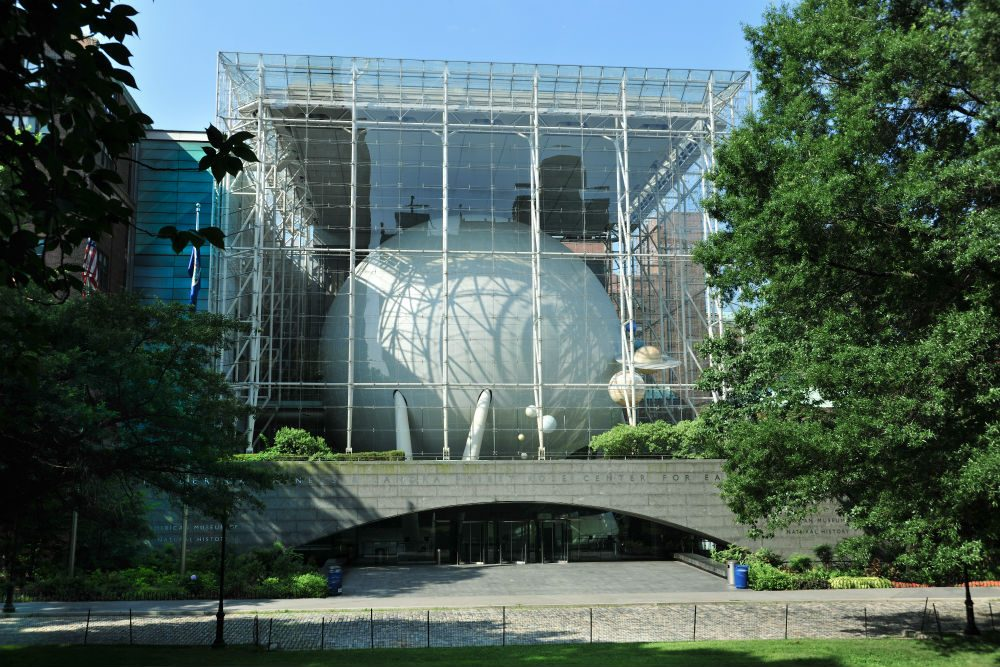 Rose Center for Earth and Science at the American Museum of Natural History