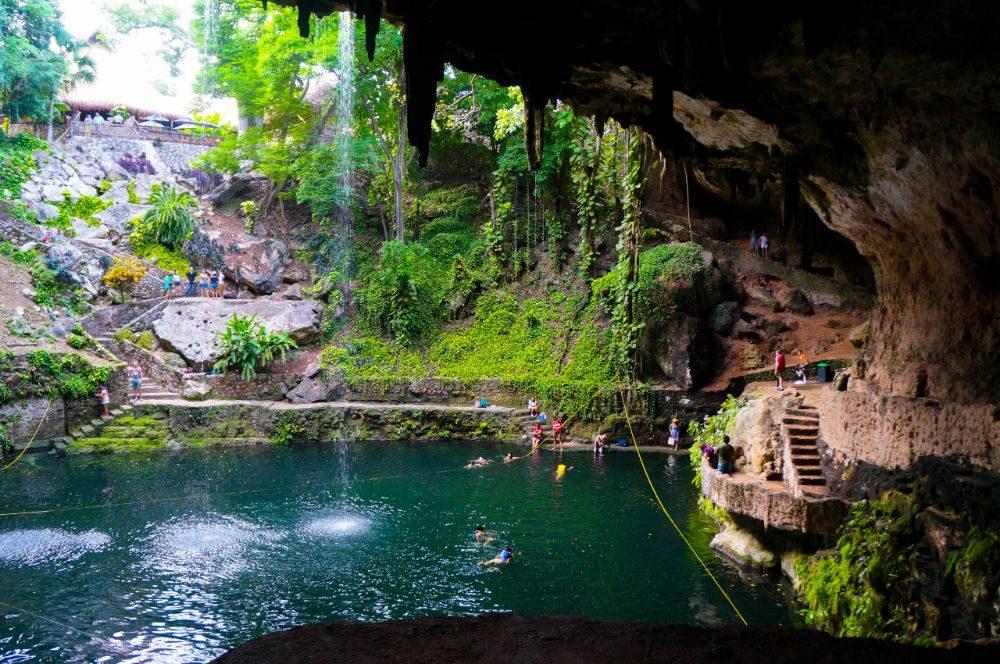 Cenote Zaci, Mexico swimming hole