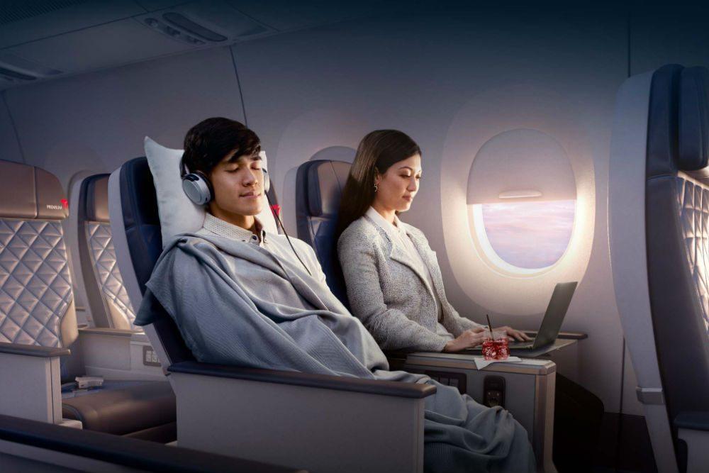 Delta Premium Select premium economy seats