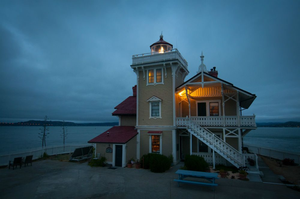East Brother Light Station San Francisco Bay California