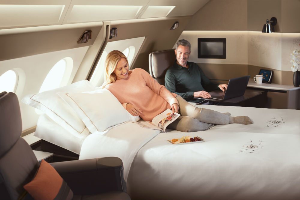 Singapore Air first class suites a380