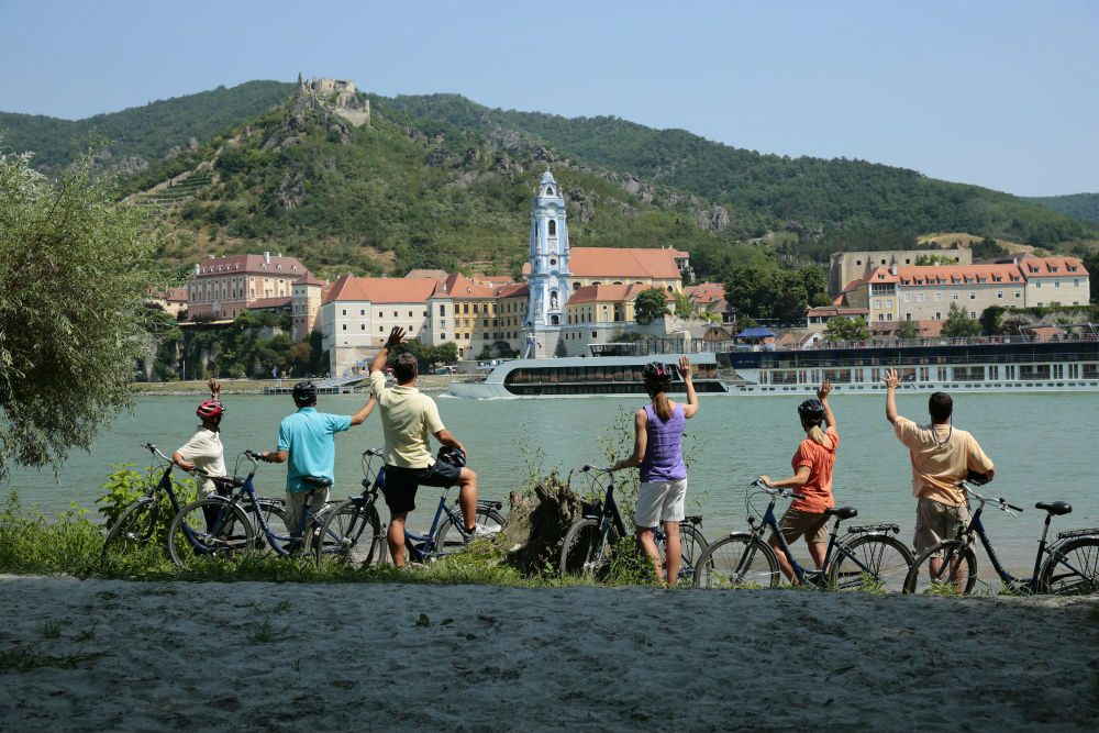 bicycles Danube AmaWaterways river cruise1