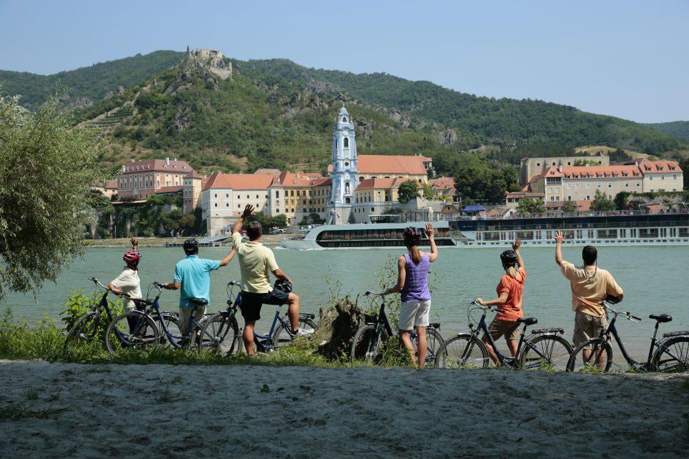 bicycles Danube AmaWaterways river cruise1