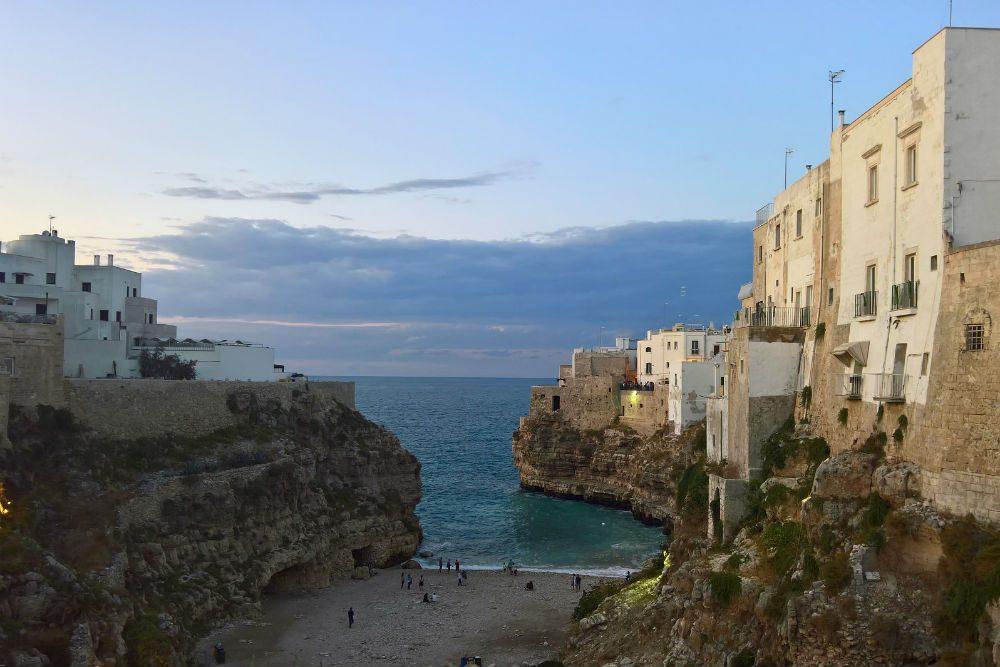 Polignano a Mare, puglia, italy, seaside village