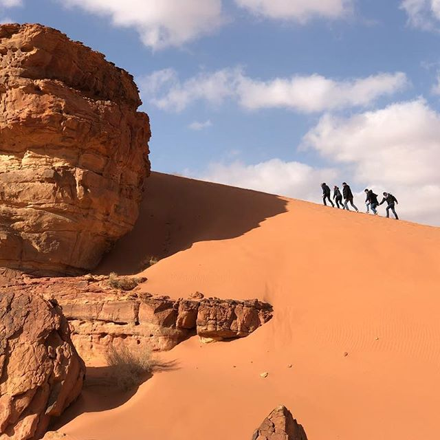 c8e1763f84e3 The dunes in Wadi Rum