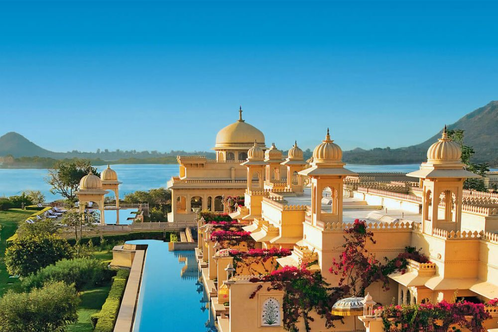 Udaivilas Oberoi hotel Udaipur india lake view