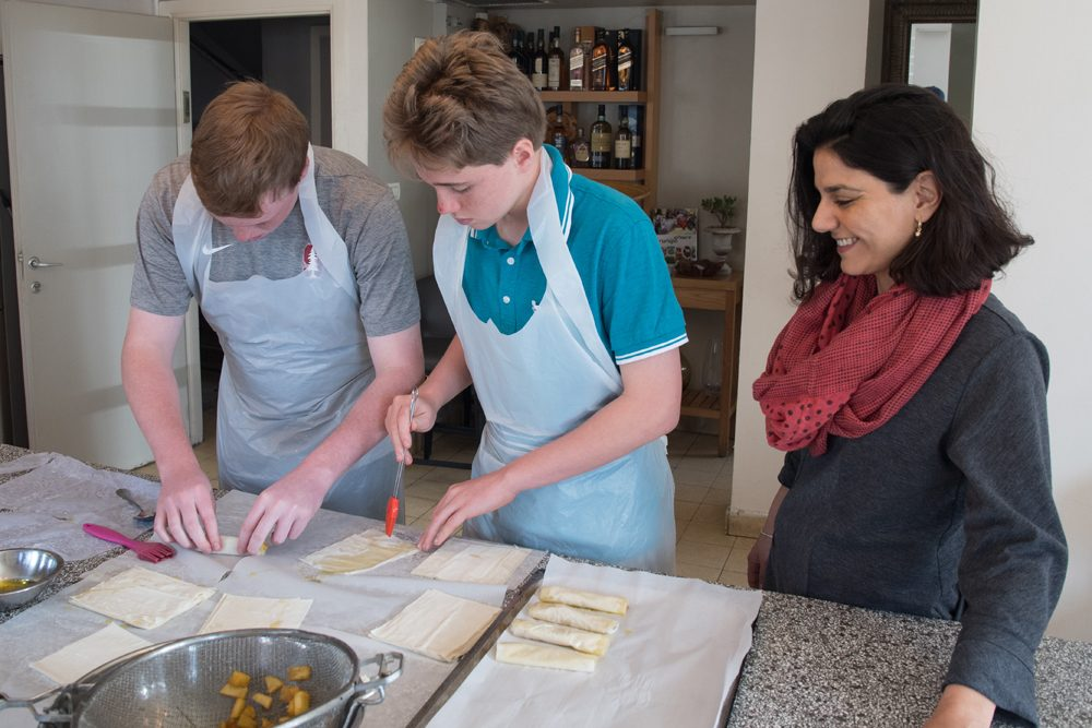 cooking class in Jersualem Israel