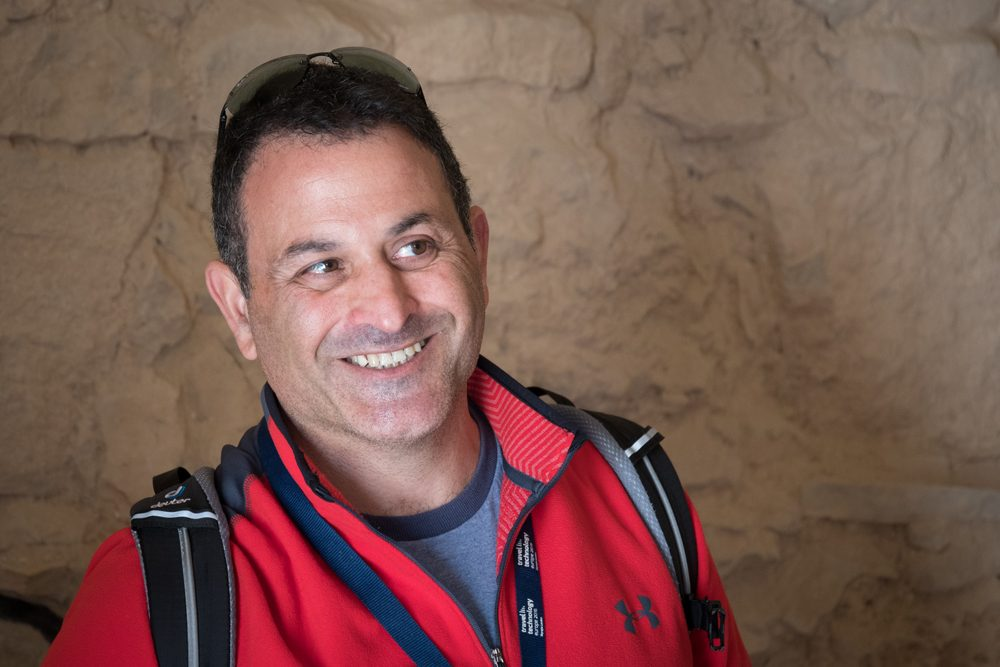 Joe Yudin, the Israel travel specialist on my WOW List
