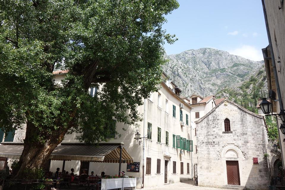 Kotor Montenegro village view