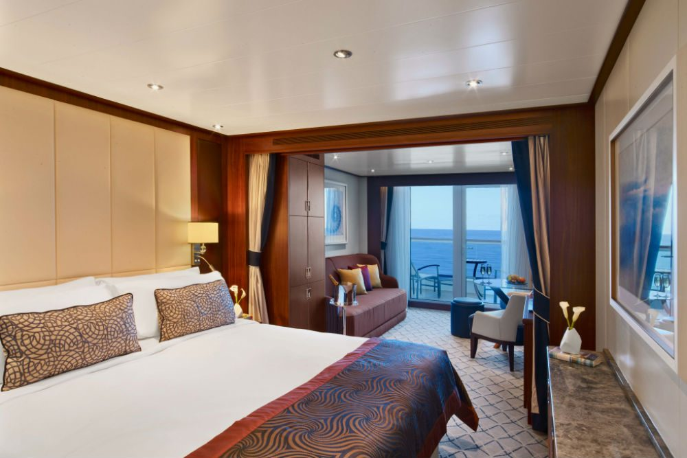 Veranda Suite Seabourn Ovation cruise ship