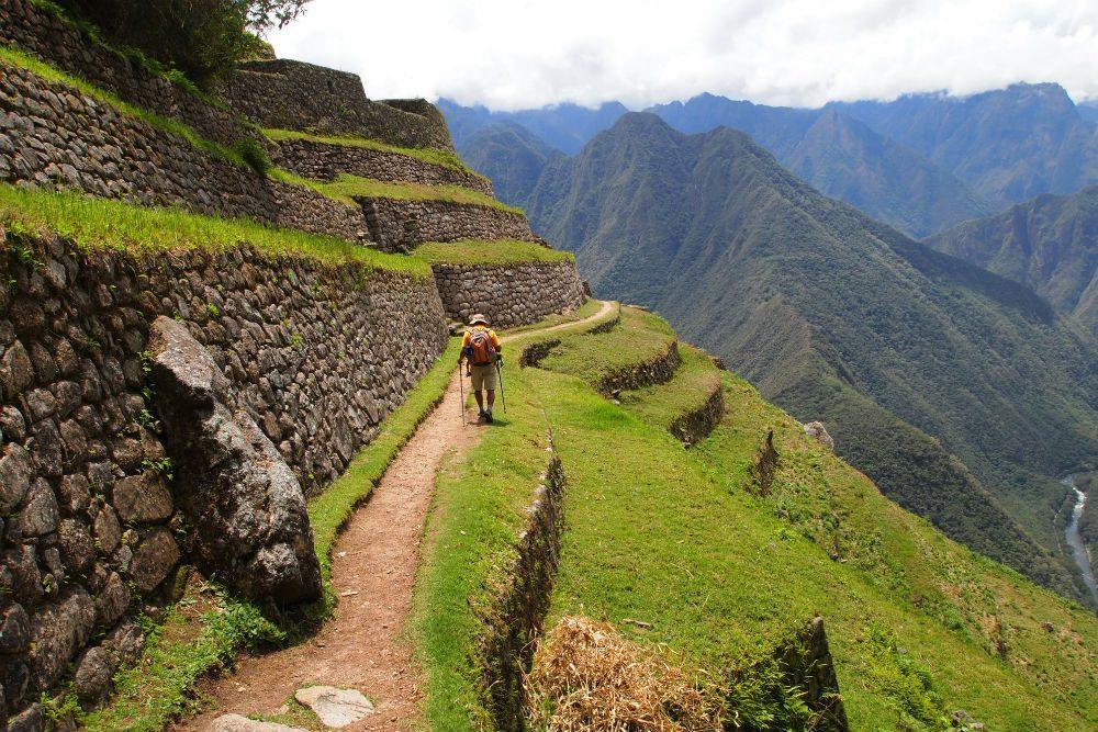 Wiñaywayna ruins along Inca Trail to Machu Picchu