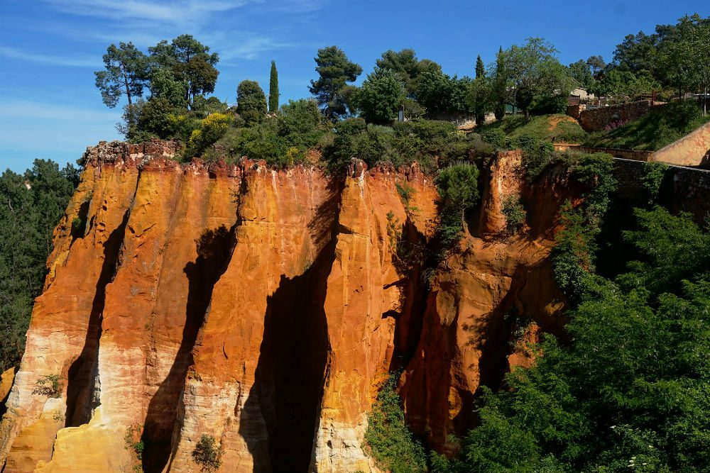 Ochre hills in Roussillon Provence France CR Pixabay