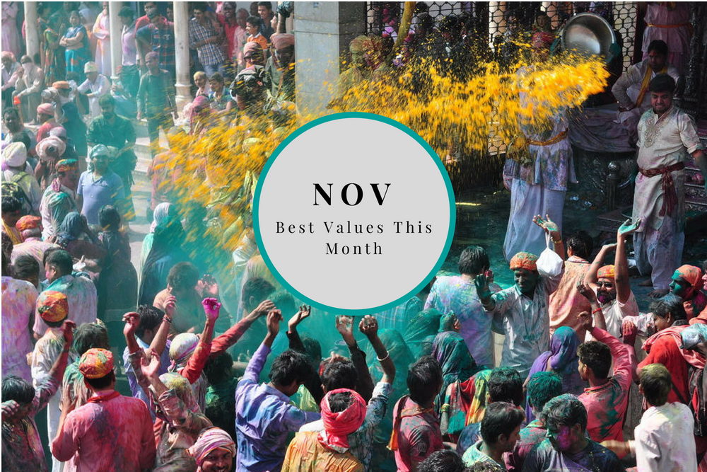 Where to Go in November: The Best Places to Travel