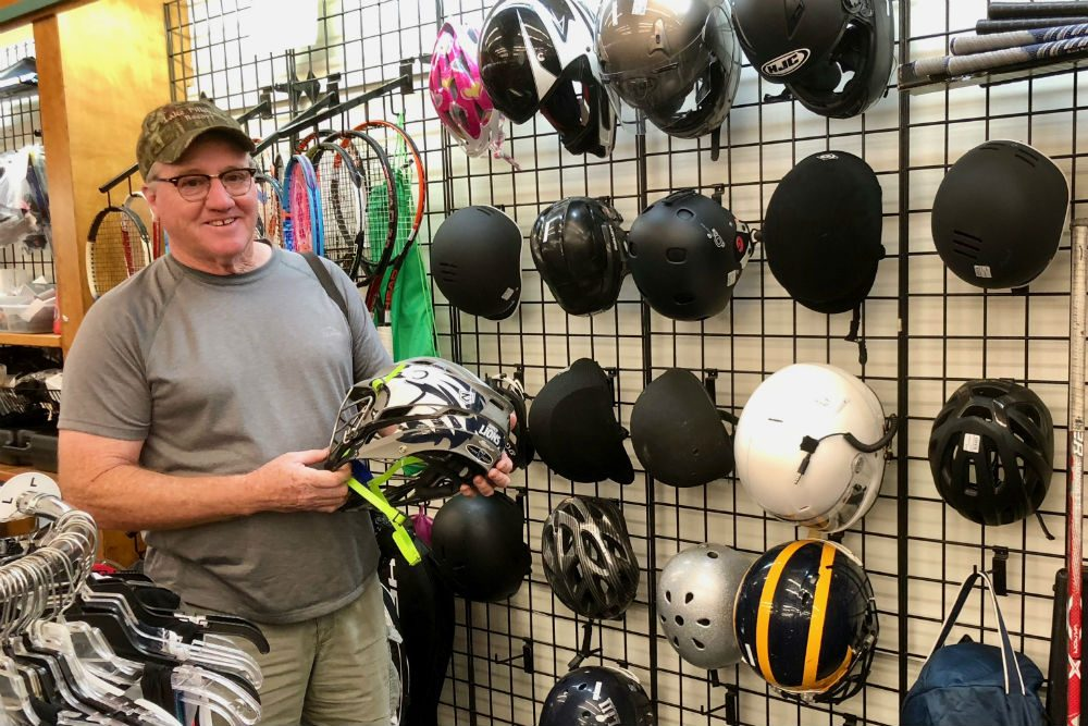 Unclaimed Baggage Center sporting goods