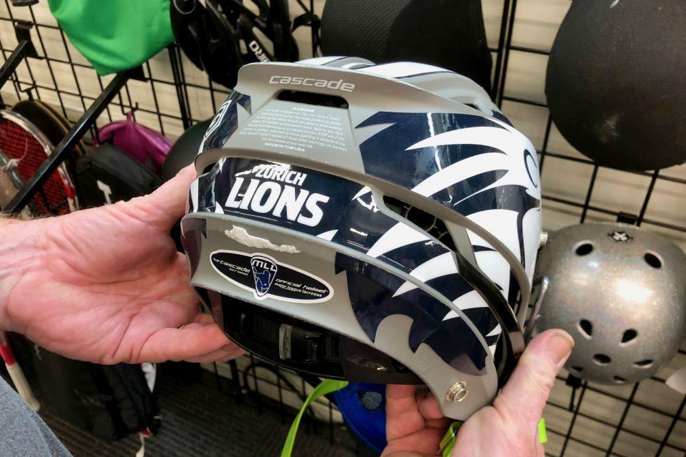 Unclaimed Baggage Center helmet