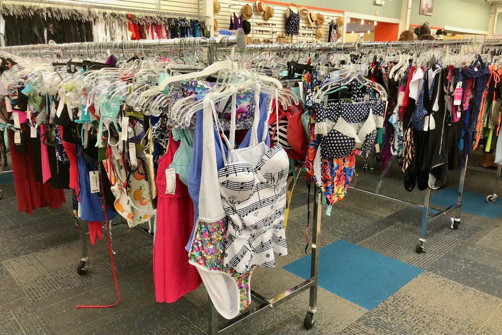 Unclaimed Baggage Center swimsuits