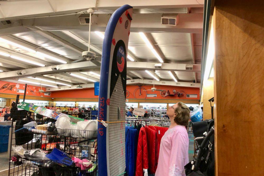 Unclaimed Baggage Center paddleboard