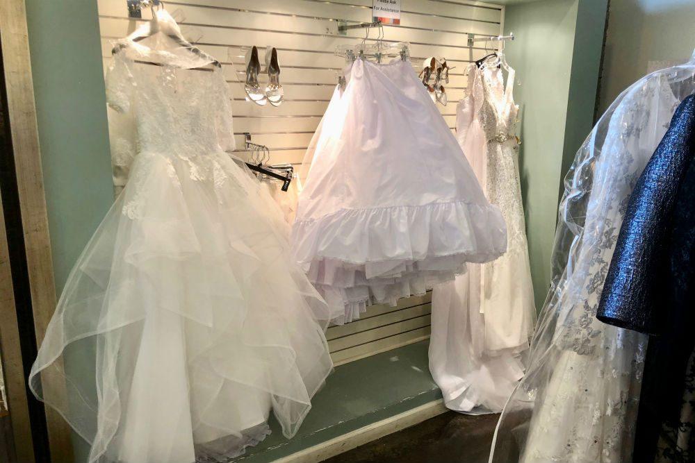 Unclaimed Baggage Center bridalwear