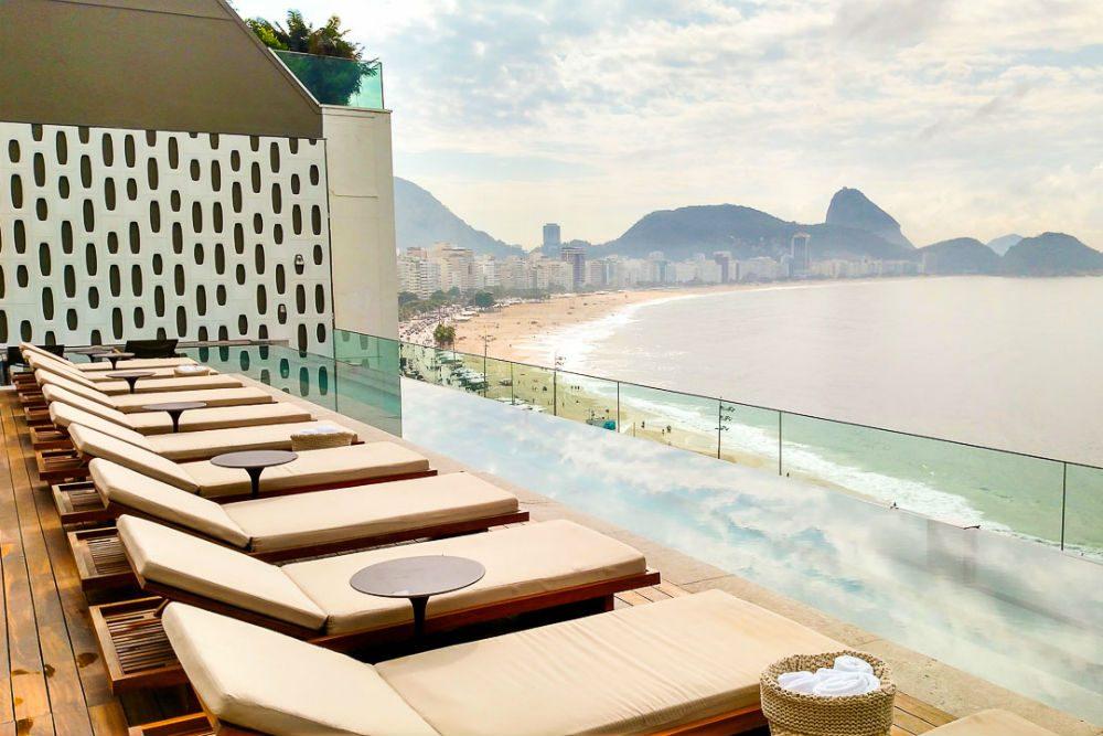 The Rio Emiliano in Rio de Janeiro Brazil