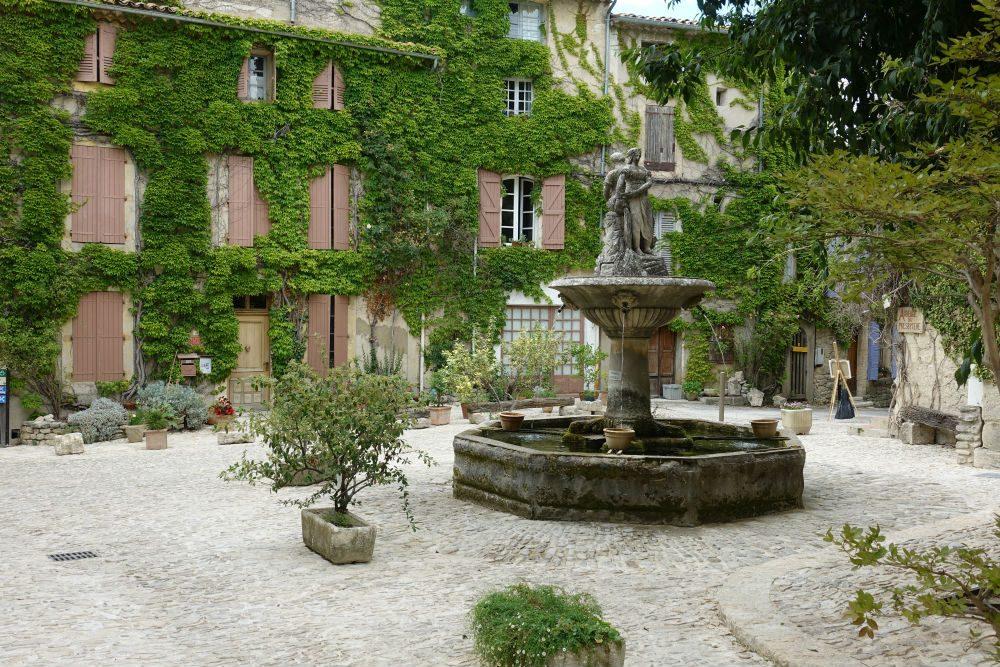 The village of Saignon Provence France