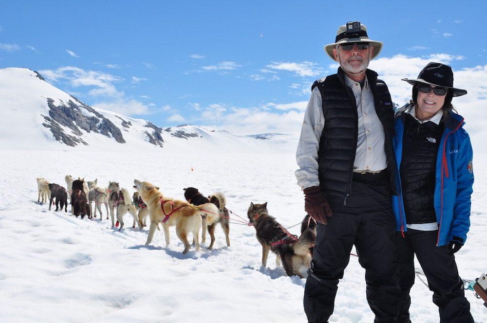 alaska dogsledding